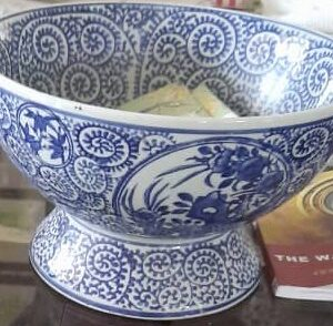 Chinese Republic Porcelain In Antique Chinese Bowls